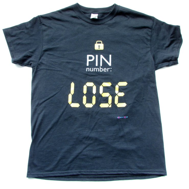eXcentriX - PIN number T-shirt