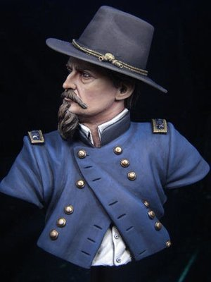 APG 4 General Hancock 1/9 th scale unpainted bust