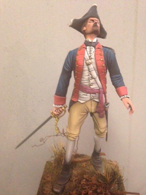 Officer of the 5th Virginia circa 1780