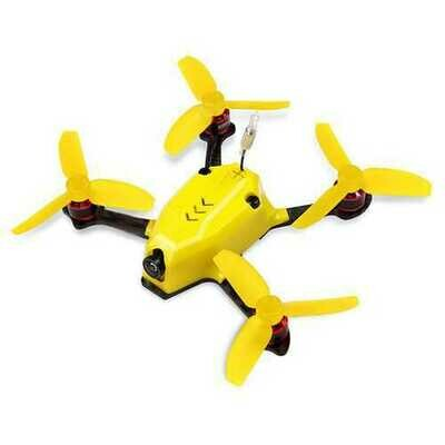 KINGKONG/LDARC 110GT 117mm RC FPV Racing Drone with F3 4in1 10A Blheli_S 25mW 16CH 800TVL BNF