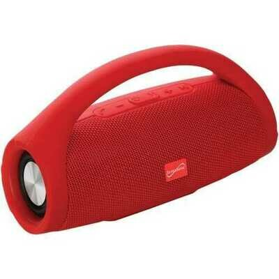 Supersonic SC-2319BT-RD Bluetooth Portable Speaker with Built-in Handle (Red)