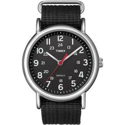 Timex Weekender® Slip-Thru Watch - Black