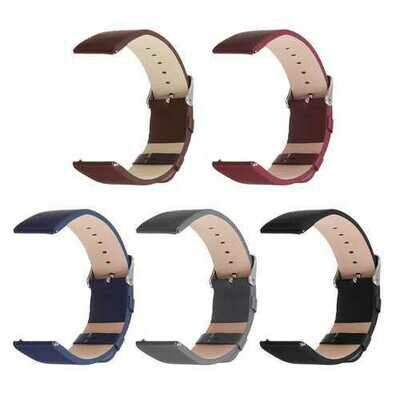 Bakeey 22mm Replacement Leather Wrist Watch Band Strap For Fitbit Versa Watch
