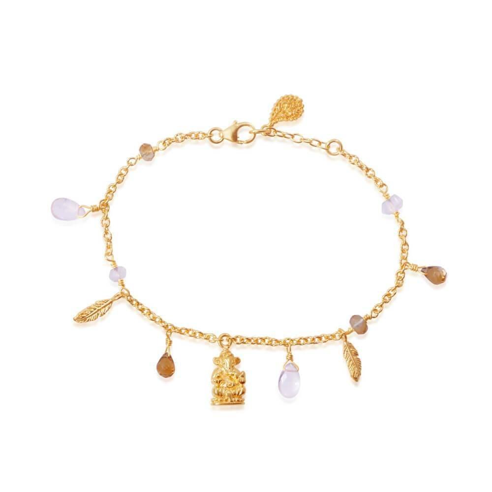 Hold My Hand Bracelet • Gold Vermeil