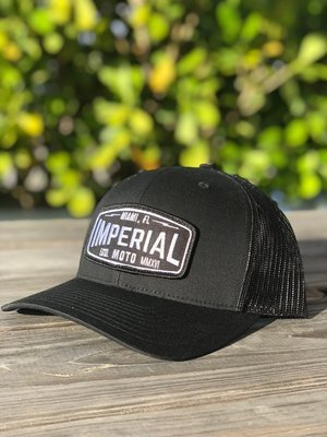 Imperial Moto 2.0 Trucker - ALL BLACK
