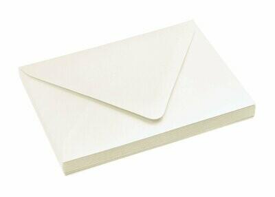 Sobre rectangular  22 x 28.5 cm 90g a 140g