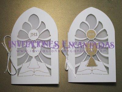Invitación Corte Laser Religiosa 013B