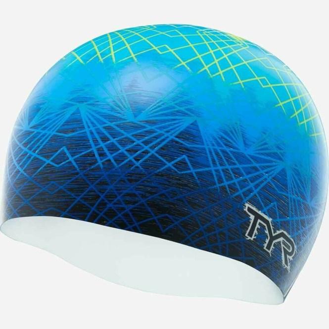 Шапочка для плавания TYR SLOW FADE SWIM CAP