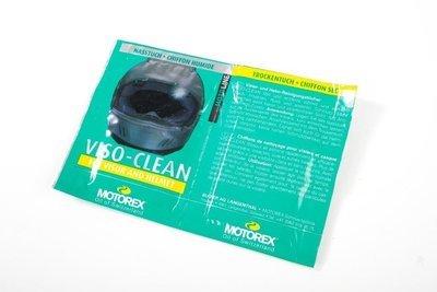 SALVIETTE MOTOREX VISO - CLEAN