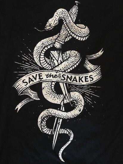 Organic Snake Breaking Knife Shirt