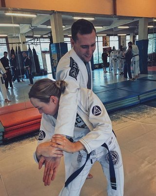 2 person - 1 hour Private with BJJ black belt- Patrick Dorahy