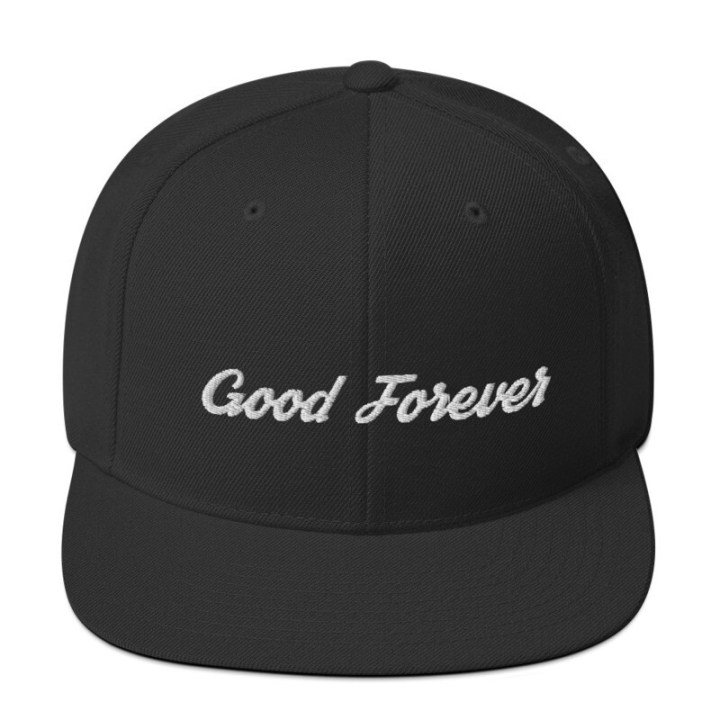 Good Forever Signature Snapback Hat