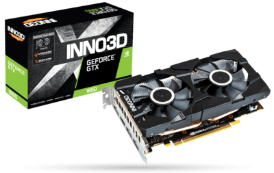 INNO3D GEFORCE GTX 1660 6 GB TWIN X2 GRAPHIC CARD