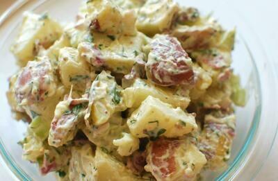 Potato-Sunchoke Salad (1 qt)
