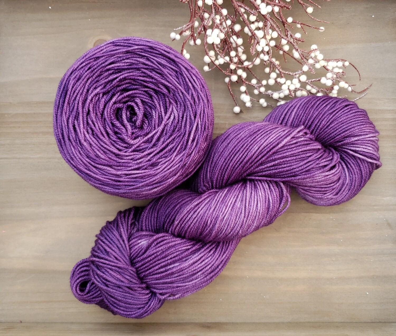 Lilac Hand Dyed Yarn