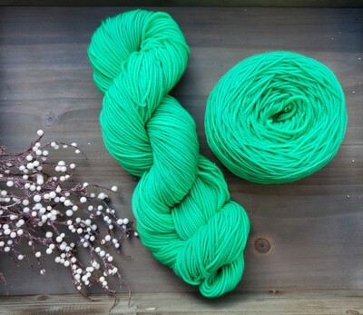 Mint Hand Dyed Yarn
