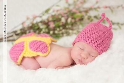 Butterfly Baby Crochet Pattern