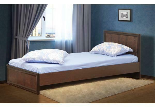 Кровать одинарная с настилом 06.258