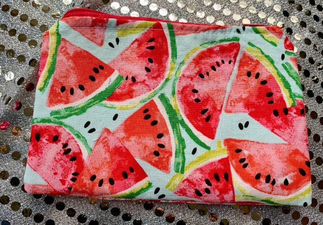 FoodSafe and Waterproof Watermelon Snack Bag