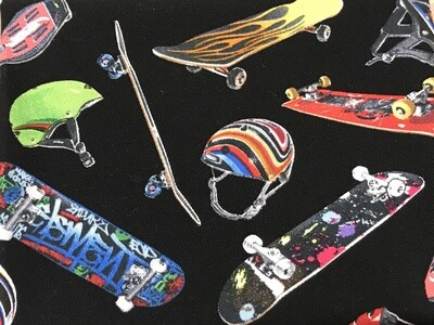 Skateboards Premium Face mask
