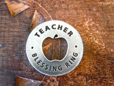 Blessing ring for Teachers