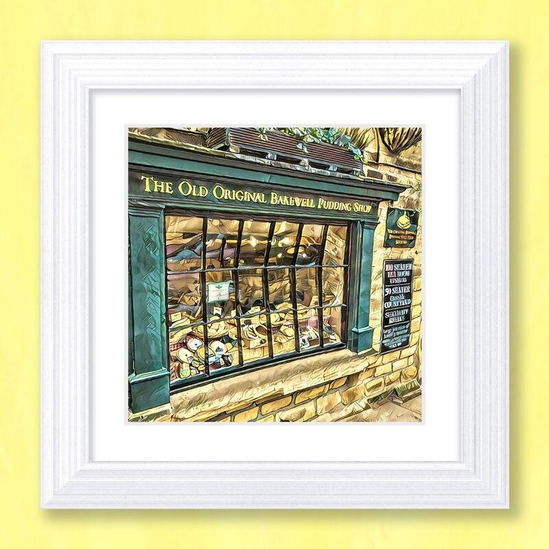 Bakewell Pudding Shop Art Print