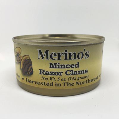 Merino's Minced Razor Clams