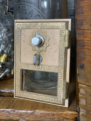 Vintage PO Box, Vintage Decor, Industrial Salvage