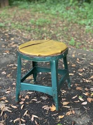 Vintage stool, Milking stool, Plant stand