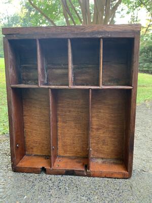 Antique Wall Shelf, Cash Register Drawer, Jewelry Box