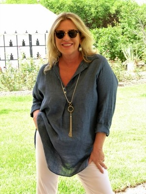 Tokyo – Loose Fitting Linen Tunic