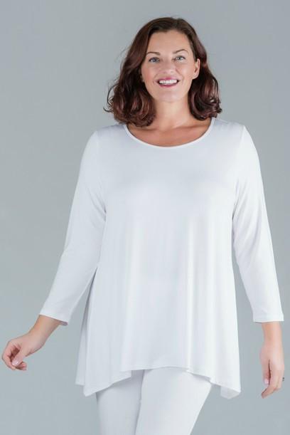 Tess - Long sleeve top - White