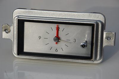 1966 - 1969 Lincoln Continental Clock REFURBISHED AND QUARTZ CONVERTED
