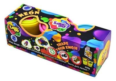 Тесто для лепки 3 стакана NEON  LOVIN'DO 41012