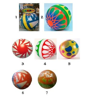 Мяч 200мм. лакированный Чебоксарский Завод с34ЛП