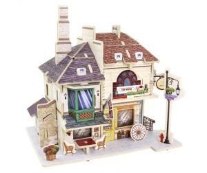 Деревянный 3D пазл «Tea House» ROBOTIME 46 деталей F135