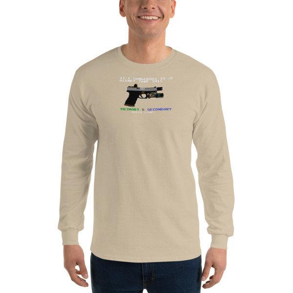 8-Bit Roland Long Sleeve T-Shirt