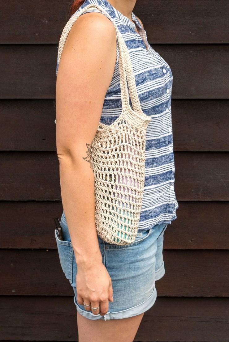 Crochet Cotton Handbag