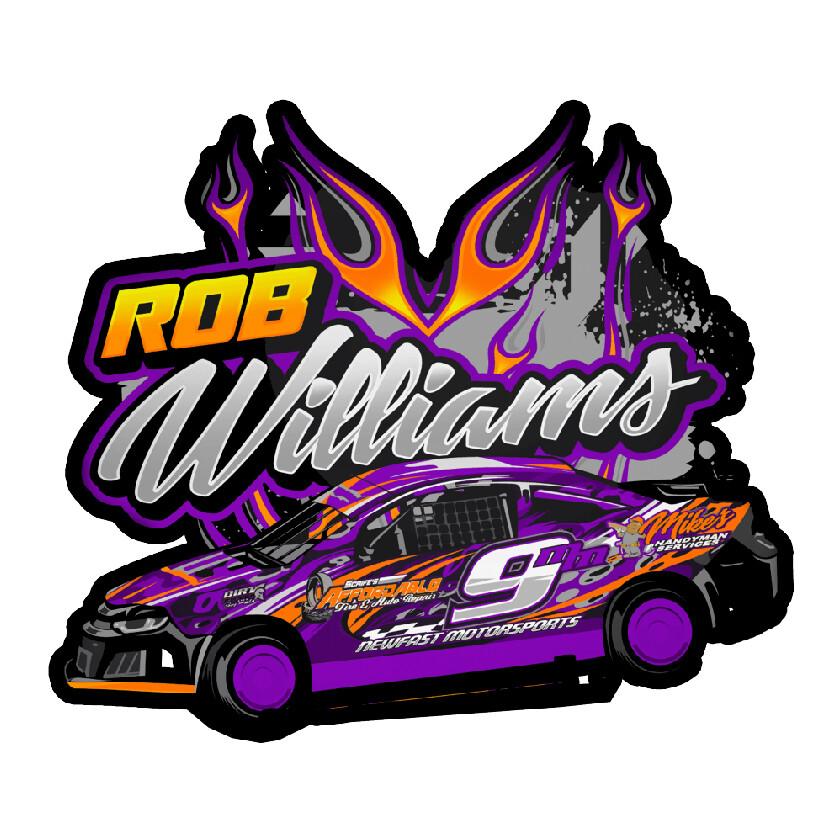 2020 Williams Racing Sticker