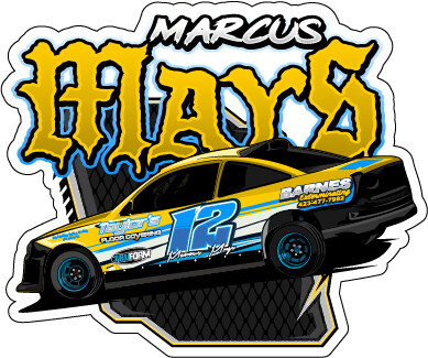 2020 Marcus Mays Racing Sticker