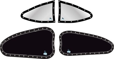 1/8 Late Model Side Window Decal Set