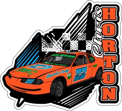 2020 Chris Horton Racing Sticker