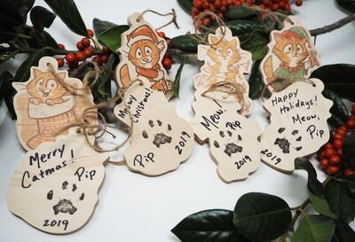 Pip's 2019 Christmas Ornaments