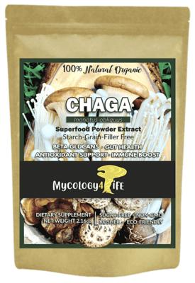 Chaga Mushroom 100% Organic Extract