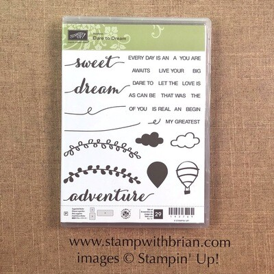 Dare to Dream Photopolymer Stamp Set NEW