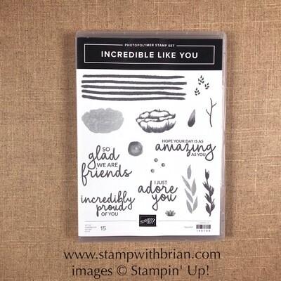 Incredible Like You Photopolymer Stamp Set NEW