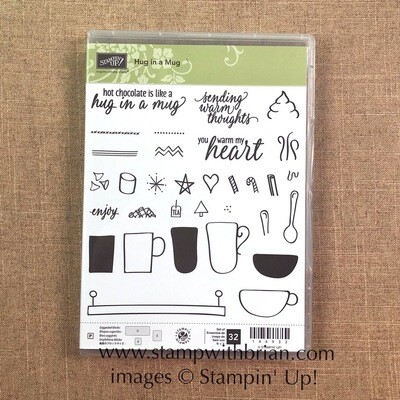 Hug in a Mug Photopolymer Stamp Set NEW