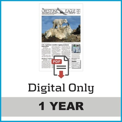 Crestone Eagle News - Annual Digital Subscription
