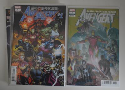Avengers #1-11