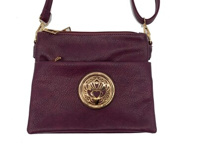 5829 Medium Triple Zip purple